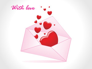 Valentine Love Envlop