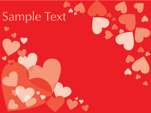Valentine Red Vector Heart