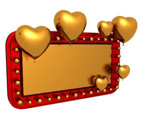 Valentine Retro Banner