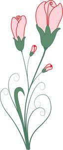 Valentine Rose Clipart