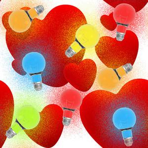 Valentine  Seamless Texture