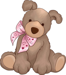 Valentine Vector Puppy