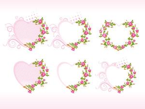 Valentine's Card With Flower