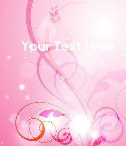 Valentine's Day Floral Background