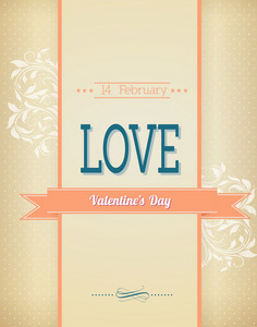 Valentine's Day Vector Illustration With