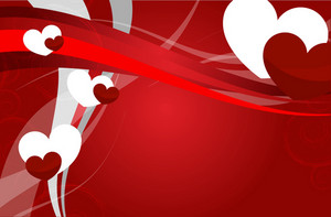 Valentines Vector Background