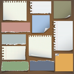 Various Notes Paper