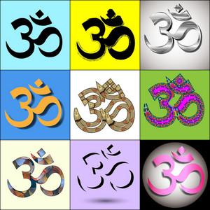 Various Om Aum Symbol