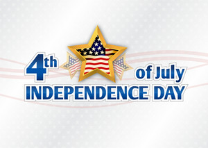 Vector 4th Of July Background With Stars