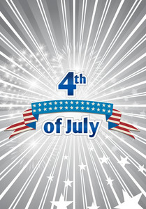 Vector 4th Of July Independence Day Background
