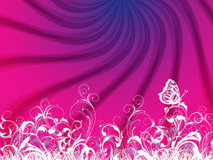 Vector Abstract Colorful Background With Rays