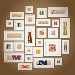 Vector Alphabets Gallery