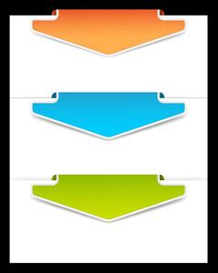 Vector Arrow Banners