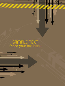 Vector Arrowhead Background