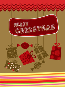 Vector Background For Xmas Day