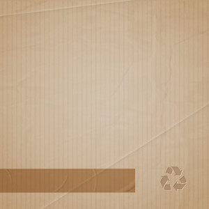 Vector Background Of Cardboard