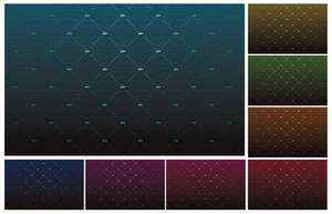 Vector Background With Crowns