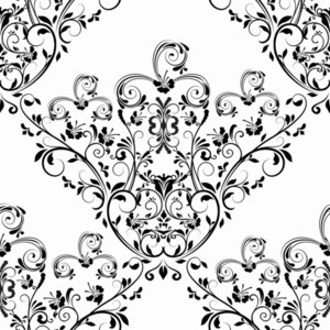 Vector Baroque Seamless Pattern