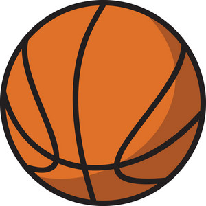 Vector Basket Ball
