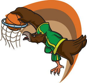 Vector Basketball Mascot