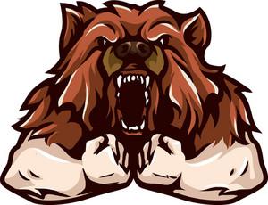 Vector Bear Mascot