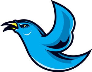 Vector Bird Mascot