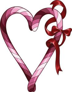 Vector Bow Heart