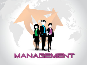 Vector Business Management Backgorund