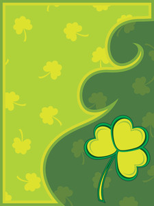 Vector Card For Happy St Patrick Day