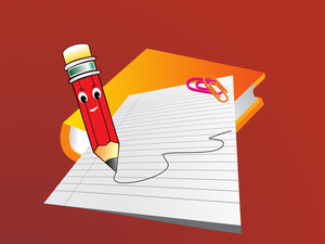 Vector Cartoon Pencil