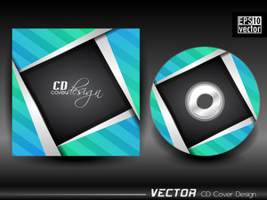 Vector Cd Cover Design.