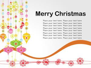 Vector Christmas Day Card