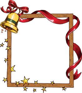 Vector Christmas Frame