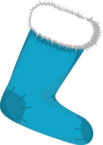 Vector Christmas Stocking