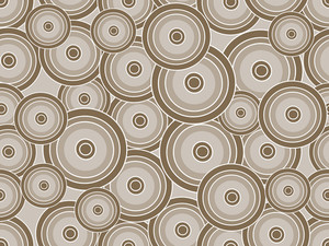Vector Circle Pattern Wallpaper