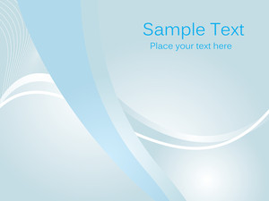 Vector Clean Blue Background Illustration