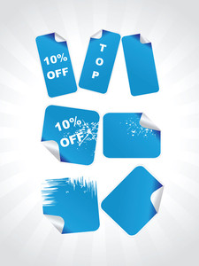 Vector Clothes Retailer Sale Illustration