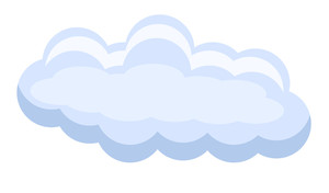 Vector Cloud Banner