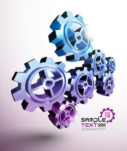 Vector Cogwheel
