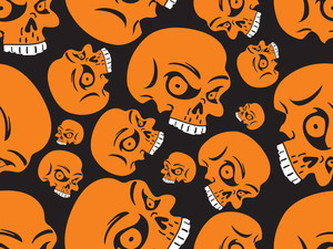 Vector Collection Of Halloween Skull