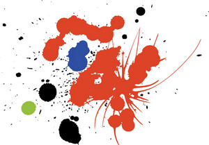 Vector Color Splashes