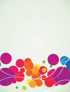 Vector bunte abstrakte Hintergrund