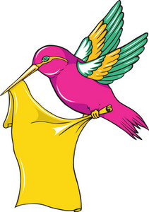 Vector Colorful Bird