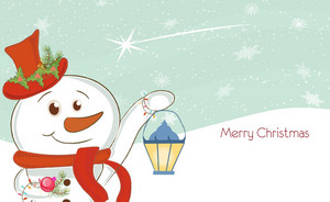Vector Colorful Christmas Background