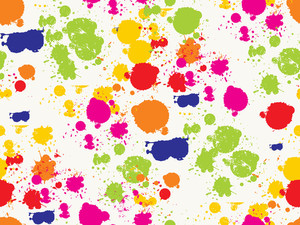 Vector Colorful Grungy Spot