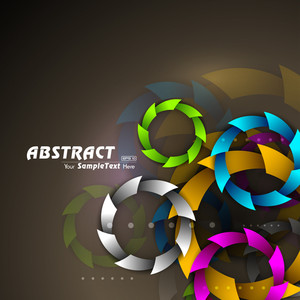 Vector Colourful Abstract Background