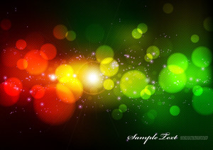 Vector Colourful Lights Texture
