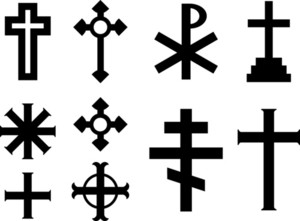 Vector Crosses - Religious Symbols