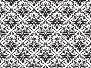 Vector Damask Pattern