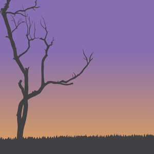 Vector Dead Tree